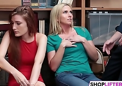 Cute Teens Get Nailed For Shoplifting