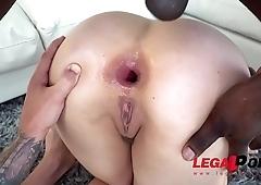 Lena Paul is a Star - Getting Fucked Hard by 2 Dicks Balls Deep