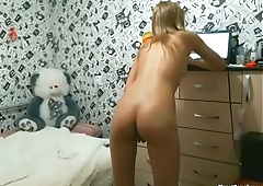 Russian amateur chick has multiple orgasms