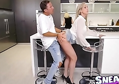 Brandi Love gave Jessy Jones a blowjob