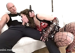 Sexy pirate girl gets anal fuck, ATM and facialized. Mia Bandini.