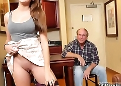 Old man college amateur Introducing Dukke