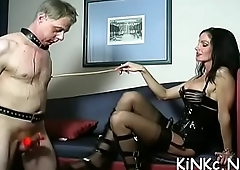 Hardcore devoted bitch had it coming as she clothed slutty