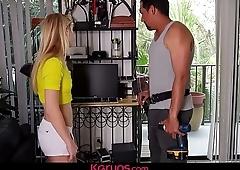 Karups - Petite Teen Anastasia Knight Fucks Electrician