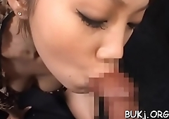 Juvenile amateur asian doll gets cock in coarse modes on cam
