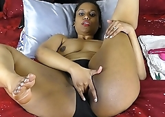 Off colour South Indian Hornylily Pounding Her Hairy Pussy Masturbating