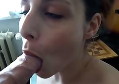 Antonia Sainz suck hard dick