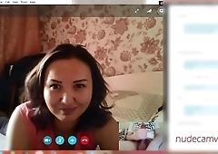 Cumming for amazed MILF on Skype [nudecamvids.com]