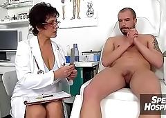 Czech mom Gabina is dirty nurse