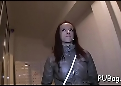 Sexy public agent was not awaiting on touching get fucked that hard