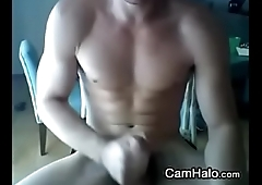 Knockout Amateur Gay Masturbating