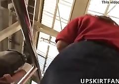 Upskirt 35 -more at- upskirtfan.com