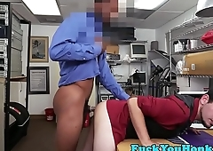 Straight casting guy interracially banged