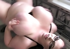 Big Boobs Gina G Horny Workout
