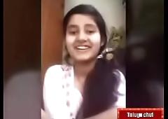 Telugu teen girl swathI IMO call to her bf