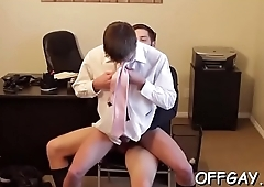 Co worker gay anal sex scenes between horny males