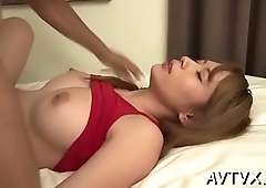 Mind-blowing and wild fucking with hot oriental pair