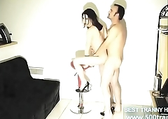 SHEMALE GETTING FUCKED BY STRAIGHT FRIEND HOMEMADE AMATEUR www.500trans.club