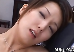 Slim japan female doc fantastic bang coupled with bukkake