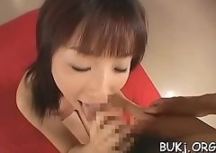 Darling craves for sex and rough action previous to bukkake