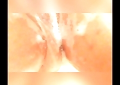 Latina Pussy Play In Shower