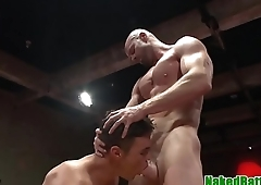 Wrestling jock anal beads hunks botheration before bj