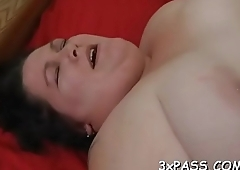 Man bangs sexy fat chick