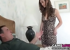 Horny step-father fuck her daughter when mom is out! - camslover.eu