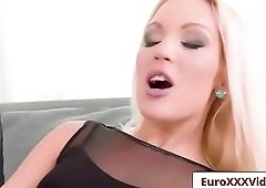 Euro XXX Sex Party - One Hot Foursome with Rina Ellis and Cecilia Scott porn vid-02