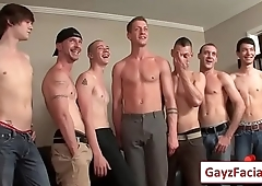 Bukkake Boys - Gay Hardcore bukkake video porno 04