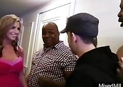 Sluty Milf (brianna brooks) In Mixt Sex On Big Long Black Dick video-11