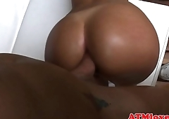 Gaping babes get anally doggystyled