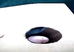 cumshot rubbing gloryhole frenulum