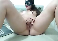 Sexy girl pussy masturbating tease
