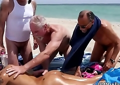 Old man playing with pussy Staycation with a Latin Hottie