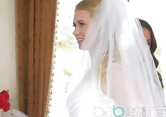 Babes - NAKED NUPTIALS featuring (Anissa Kate, Violette Pink, Charlie Dean)