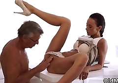 Young couple old man hd first time Finally she'_s got her chief dick