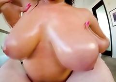 Ella Knox POV blowjob and titjob