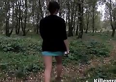 Cum loving Asian Milf loves to go dogging