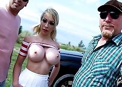 Chessie Kay also fucks the lucky cameraman !