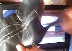 Otro video cuerpo completo de mi hermana su vestidito y sus botas de zorr